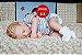 Bebê Reborn Menino Realista Bebê Super Fofo Feito Com Detalhes Acompanha Enxoval E Chupeta - Imagem 2