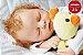 Boneca Bebê Reborn Menina Realista Bebê Artesanal Sofisticada Com Enxoval Lindo Enxoval - Imagem 1