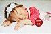 Boneca Bebê Reborn Menina Realista Lindíssima Bebê Recém Nascida Sofisticada E Encantadora - Imagem 1