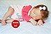 Boneca Bebê Reborn Menina Realista Lindíssima Bebê Recém Nascida Sofisticada E Encantadora - Imagem 2