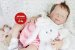 Bebê Reborn Menina Detalhes Reais Bonita E Perfeitinha Acompanha Lindo Enxoval E Chupeta - Imagem 2