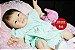 Bebê Reborn Menina Detalhes Reais Bela E Encantadora Acompanha Acessórios E Lindo Enxoval - Imagem 1
