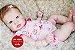 Bebê Reborn Menina Detalhes Reais Bebê Encantadora Um Verdadeiro Presente Com Enxoval - Imagem 1