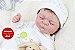Bebê Reborn Menino Realista Lindo Bebê Sofisticado Todo Em Vinil Articulável Com Enxoval - Imagem 1