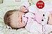 Bebê Reborn Menina Detalhes Reais Bebê Graciosa Com Lindo Enxoval E Acessórios Muito Fofos - Imagem 1