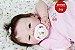 Bebê Reborn Menina Detalhes Reais Bonita E Encantadora Um Verdadeiro Presente Com Enxoval - Imagem 1