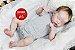 Boneca Bebê Reborn Menina Realista Graciosa E Perfeitinha Toda Em Vinil Membros Articuláveis - Imagem 2
