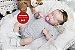 Boneca Bebê Reborn Menina Realista Graciosa E Perfeitinha Toda Em Vinil Membros Articuláveis - Imagem 1