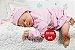 Bebê Reborn Menina Realista Loirinha Boneca Maravilhosa Detalhes Perfeitinhos Com Enxoval - Imagem 1