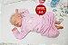 Bebê Reborn Menina Realista Loirinha Boneca Maravilhosa Detalhes Perfeitinhos Com Enxoval - Imagem 2