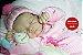 Bebê Reborn Menina Realista Bebê Maravilhosa Recém Nascida Com Lindo Enxoval E Acessórios - Imagem 1