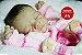 Bebê Reborn Menina Realista Bebê Maravilhosa Recém Nascida Com Lindo Enxoval E Acessórios - Imagem 2
