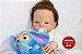 Bebê Reborn Menino Detalhes Reais Bebê Artesanal Sofisticado Todo Em Vinil Siliconado - Imagem 1