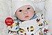 Bebê Reborn Menino Detalhes Reais Bebê Muito Fofo Um Verdadeiro Presente Acompanha Enxoval - Imagem 1