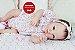 Bebê Reborn Menina Parece Um Bebê De Verdade 51 Cm Bela Princesa Com Enxoval E Acessórios - Imagem 2