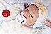 Boneca Bebê Reborn Menina Detalhes Reais Lindíssima Muito Fofa E Graciosa Com Lindo Enxoval - Imagem 2