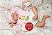 Bebê Reborn Menina Detalhes Reais Linda Princesa 46 Cm Acompanha Acessórios E Enxoval - Imagem 2