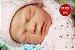 Bebê Reborn Menina Detalhes Reais Linda Princesa 46 Cm Acompanha Acessórios E Enxoval - Imagem 1