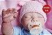 Bebê Reborn Menino Quase Real Bebê Artesanal Detalhes Sofisticados Com Enxoval E Chupeta - Imagem 1