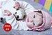 Boneca Bebê Reborn Menina Bebê Quase Real Muito Fofa E Encantadora Acompanha Enxoval - Imagem 1