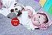 Boneca Bebê Reborn Menina Bebê Quase Real Muito Fofa E Encantadora Acompanha Enxoval - Imagem 2