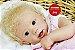 Bebê Reborn Menina Super Realista Um Verdadeiro Presente Acompanha Lindo Enxoval E Chupeta - Imagem 1