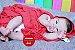 Boneca Bebê Reborn Menina Bebê Quase Real Lindíssima Com Enxoval Completo Mais Acessórios - Imagem 2