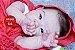 Boneca Bebê Reborn Menina Bebê Quase Real Lindíssima Com Enxoval Completo Mais Acessórios - Imagem 1