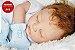 Bebê Reborn Menino Com Características Idênticas A Um Bebê De Verdade Com Enxoval E Chupeta - Imagem 2