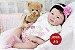 Bebê Reborn Menina Detalhes Reais Bebê Oriental Maravilhosa Rica Em Detalhes Com Enxoval - Imagem 1