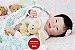 Bebê Reborn Menina Detalhes Reais Bebê Oriental Maravilhosa Rica Em Detalhes Com Enxoval - Imagem 2