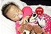 Bebê Reborn Menina Realista Bebê Negra Criança Grande Toddler Lindíssima Com Enxoval - Imagem 1