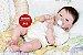Bebê Reborn Menino Detalhes Reais Muito Fofo Parece Um Bebê De Verdade Acompanha Enxoval - Imagem 1