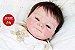 Bebê Reborn Menino Detalhes Reais Muito Fofo Parece Um Bebê De Verdade Acompanha Enxoval - Imagem 2