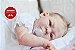 Boneca Bebê Reborn Menina Detalhes Reais Muito Fofa E Delicada Acompanha Acessórios - Imagem 1