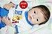 Bebê Reborn Menino Detalhes Reais Bebê Sofisticado Lindíssimo Com Chupeta E Enxoval - Imagem 1