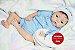 Bebê Reborn Menino Realista Detalhes Perfeitos De Um Bebê De Verdade Com Lindo Enxoval - Imagem 2