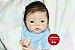 Bebê Reborn Menino Realista Detalhes Perfeitos De Um Bebê De Verdade Com Lindo Enxoval - Imagem 1