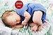 Bebê Reborn Menino Detalhes Reais Bebê Encantador E Perfeitinho Com Chupeta E Enxoval - Imagem 2