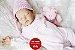 Boneca Bebê Reborn Menina Detalhes Reais De Um Bebê De Verdade Linda Com Enxoval - Imagem 2