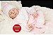 Boneca Bebê Reborn Menina Bebê Quase Real Um Verdadeiro Presente Acompanha Lindo Enxoval - Imagem 1
