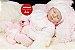 Boneca Bebê Reborn Menina Bebê Quase Real Um Verdadeiro Presente Acompanha Lindo Enxoval - Imagem 2