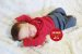 Bebê Reborn Menino Detalhes Reais Bebê Sofisticado Artesanal Com Chupeta E Lindo Enxoval - Imagem 2