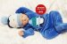 Bebê Reborn Menino Bebê Quase Real Uma Fofura Recém Nascido Com Enxoval Completo - Imagem 2