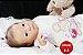 Boneca Bebê Reborn Menina Realista Bonita E Graciosa Acompanha Lindo Enxoval E Acessórios - Imagem 2