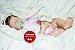 Boneca Bebê Reborn Menina Detalhes Reais Super Fofa E Bonita Acompanha Acessórios E Enxoval - Imagem 1