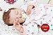 Bebê Reborn Menina Realista Linda E Encantadora Parece Um Bebê De Verdade Acompanha Enxoval - Imagem 1