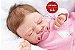 Bebê Reborn Menina Realista Princesinha Linda Parece Um Bebê De Verdade Acompanha Enxoval - Imagem 1