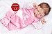 Bebê Reborn Menina Realista Princesinha Linda Parece Um Bebê De Verdade Acompanha Enxoval - Imagem 2