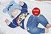 Bebê Reborn Menino Super Realista Criança Grande Toddler 60 Cm Acompanha Lindo Enxoval - Imagem 1